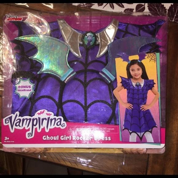 4a947a9ad Disney Costumes   Junior Vampirina Ghoul Girl Rocker Dress   Poshmark